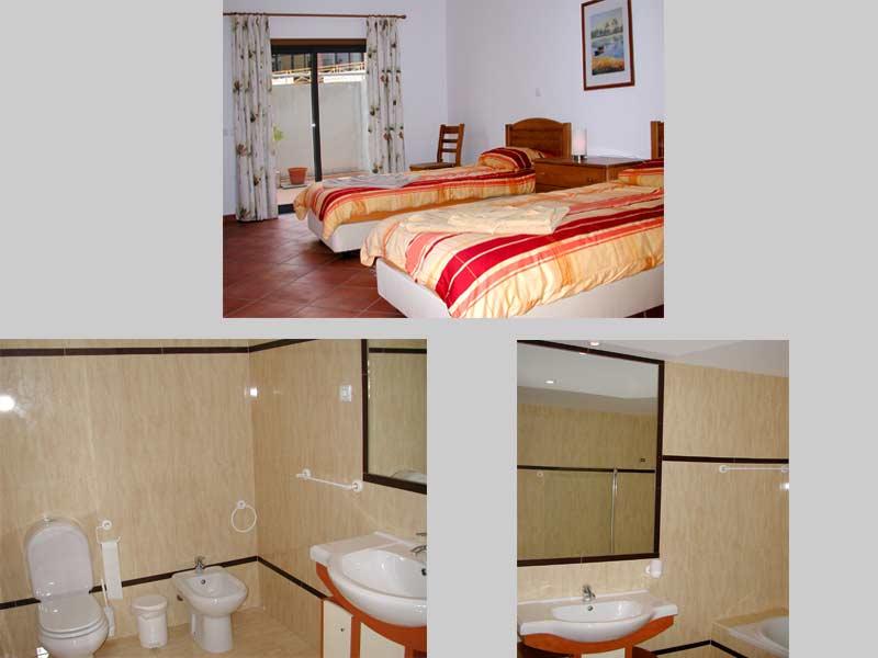 Appartement QRD, Compositie van de Slaapkamers en Badkamers Lagos / Praia Dona Ana, Algarve Portugal