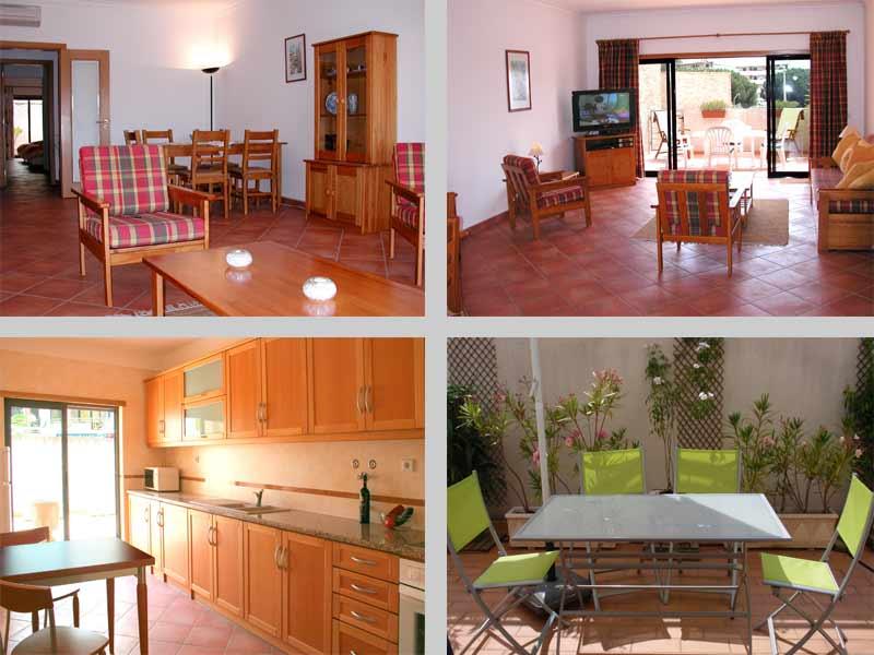 Appartement QRD, Compositie Woonkamer Keuken, Lagos / Praia Dona Ana, Algarve Portugal