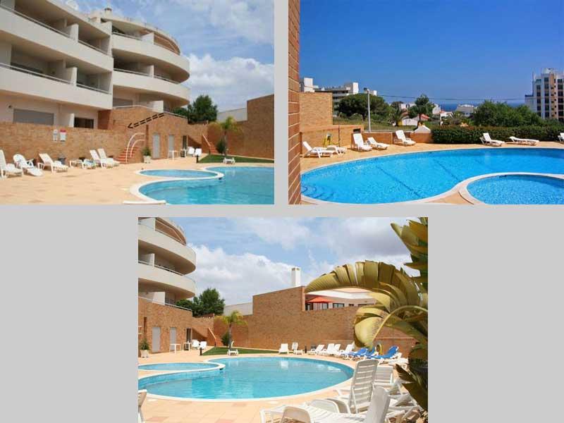 Zwembad van Appartement QRD, Lagos / Praia Dona Ana, Algarve Portugal