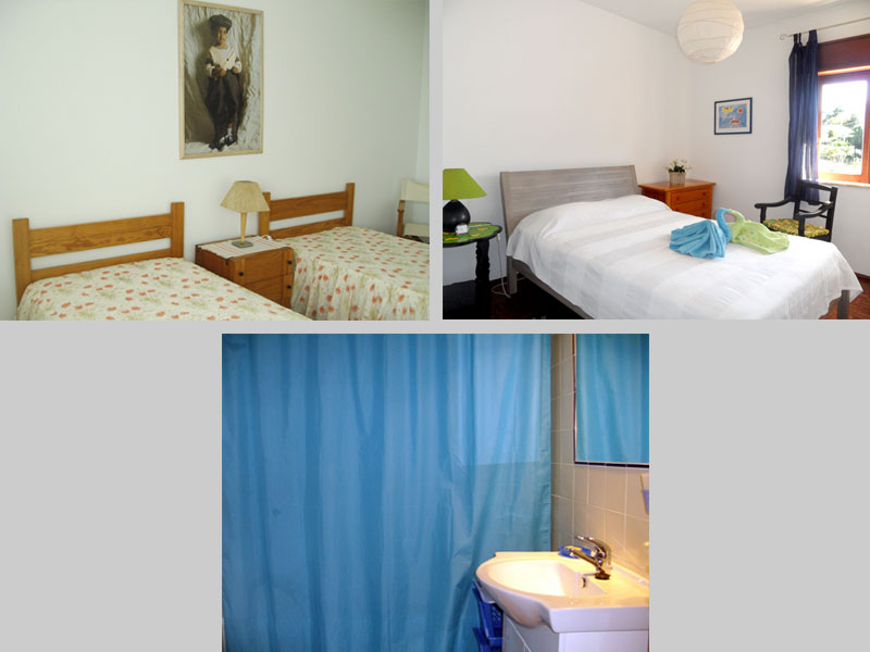 Appartement TLB Compositie Slaapkamers en Badkamer in Lagos, Algarve Portugal