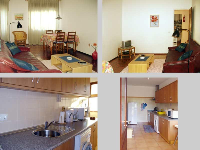 Appartement TLB Compositie Woonkamer en Keuken in Lagos, Algarve Portugal