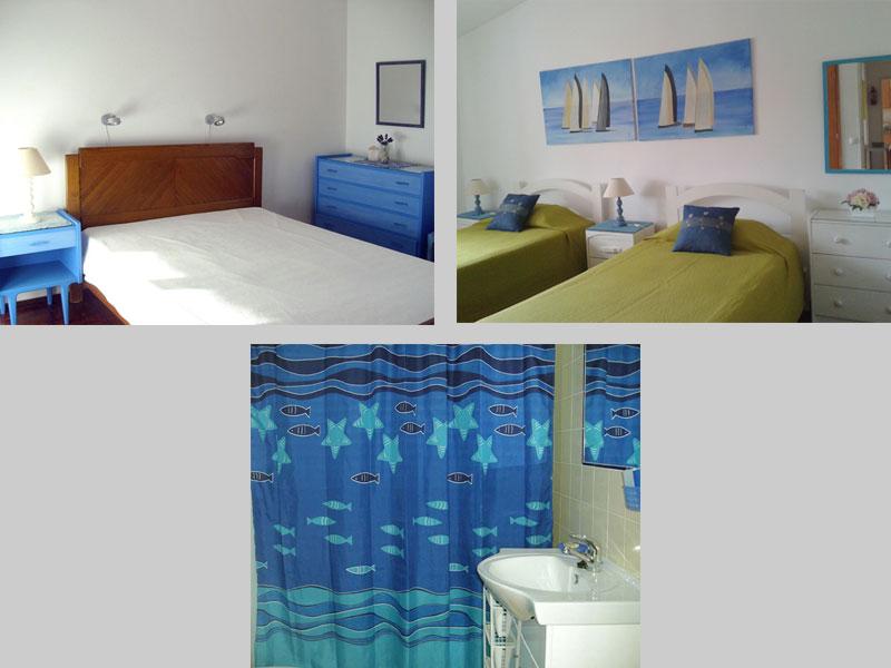Appartement TLC Compositie Slaapkamers en Badkamer in Lagos, Algarve Portugal