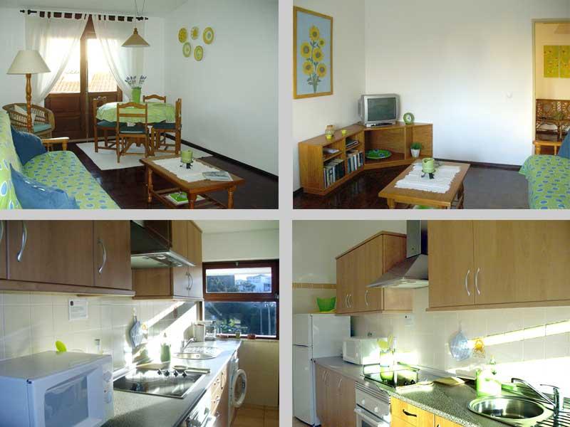 Appartement TLC Compositie Woonkamer en Keuken in Lagos, Algarve Portugal