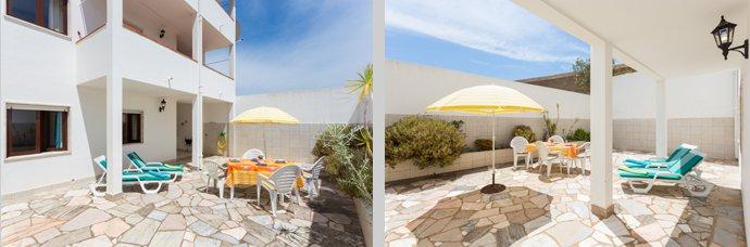 Appartement TLA Compositie Terras in Lagos, Algarve Portugal