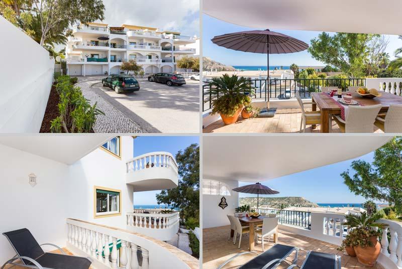 Appartement AMD, Portugese Vakantie appartement, Uitzicht Praia da Luz, Algarve Portugal