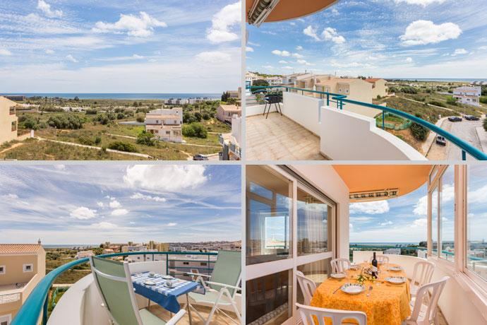 Appartement APP Compositie Balkon Uitzicht in Lagos, Algarve Portugal