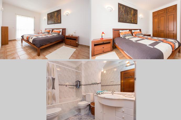 Appartement APP Compositie Slaapkamer Badkamer en-suite in Lagos, Algarve Portugal