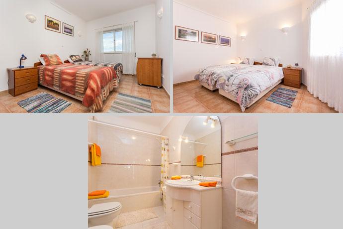 Appartement APP Compositie Slaapkamers en Badkamer in Lagos, Algarve Portugal