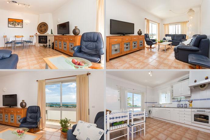 Appartement APP Compositie Woonkamer en Keuken in Lagos, Algarve Portugal