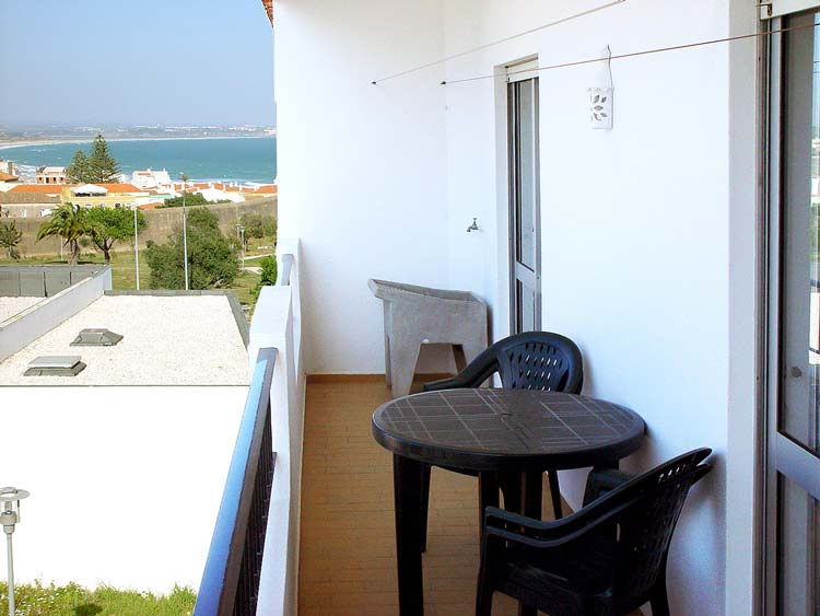 Appartement JPM uitzicht vanaf balkon in Lagos, Algarve Portugal