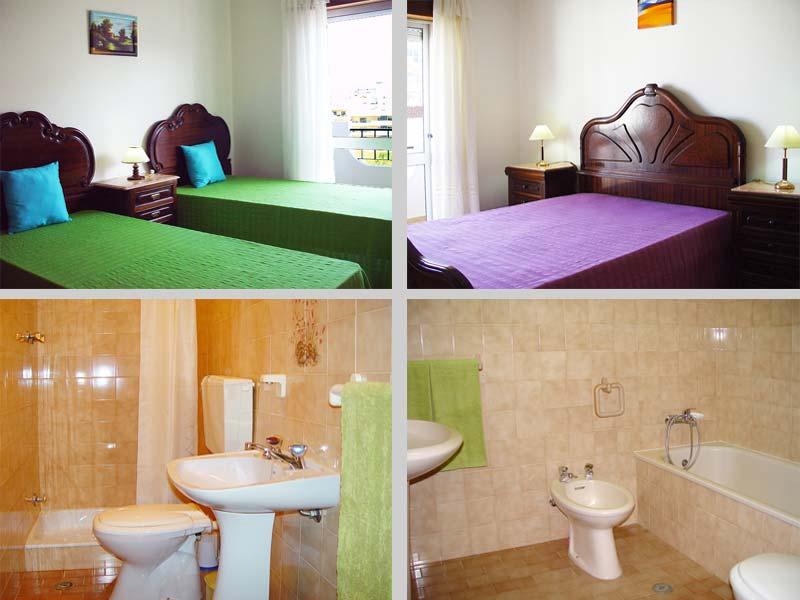 Appartement JPM Compositie Slaapkamers en Badkamers in Lagos, Algarve Portugal