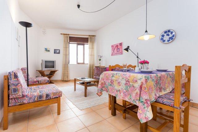 Appartement TLA Woonkamer in Lagos, Algarve Portugal