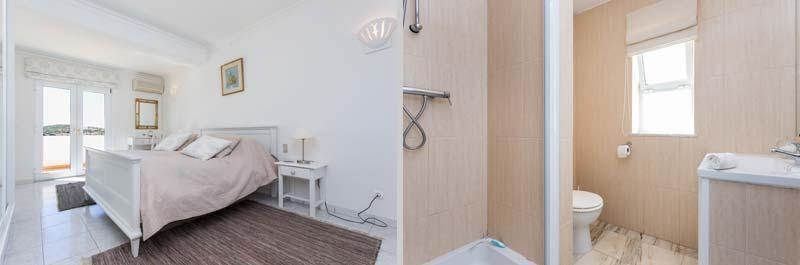 Casa JHZ, Compositie van Slaapkamer Badkamers Airco Figueira - Salema - Budens, Algarve Portugal