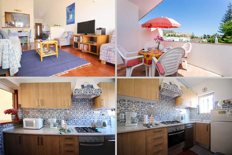 Casa TRP, townhouse in Praia da Luz, Algarve, Portugal - composition living room and kitchen