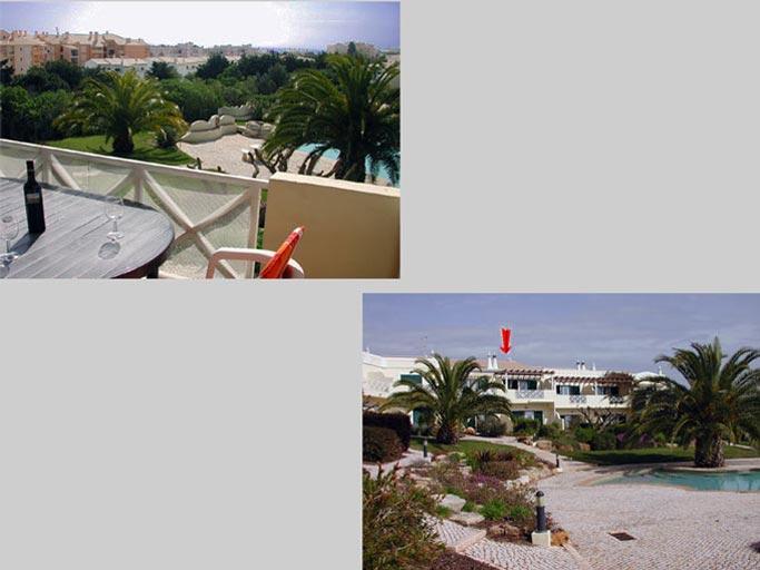 Casa BEA, Vakantiehuis Compositie Balkon en zwembad, Praia da Luz Algarve Portugal