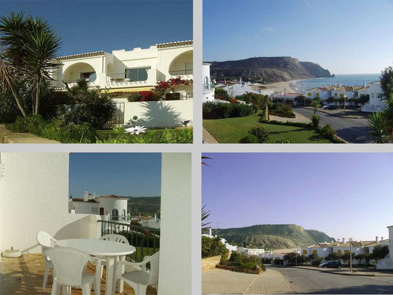 Casa CLD, Portugees Vakantie huisje, Compositie Uitzicht en terras, zonder zwembad in Praia da Luz, Algarve Portugal