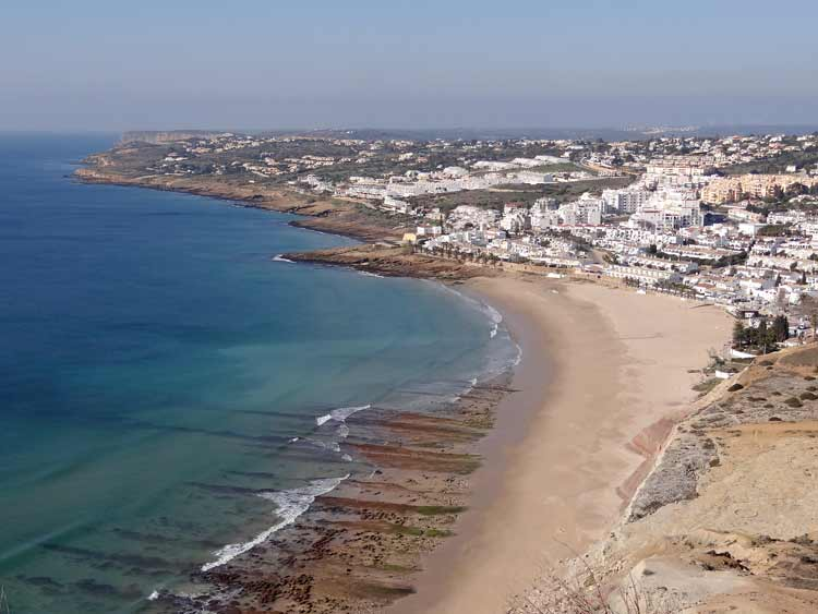 Praia da Luz 7 Henk Bea, Algarve, Portgal