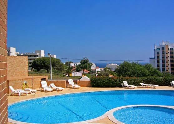 Studio QRD Gemeenschappelijke zwembad in Lagos, Algarve Portugal