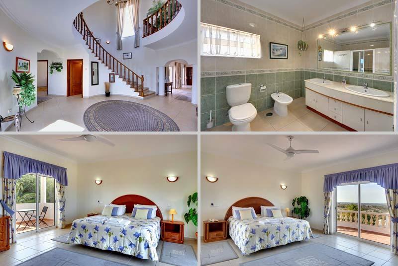 Villa CSB Compositie Slaapkamer 1ste etage, Lagos Algarve Portugal