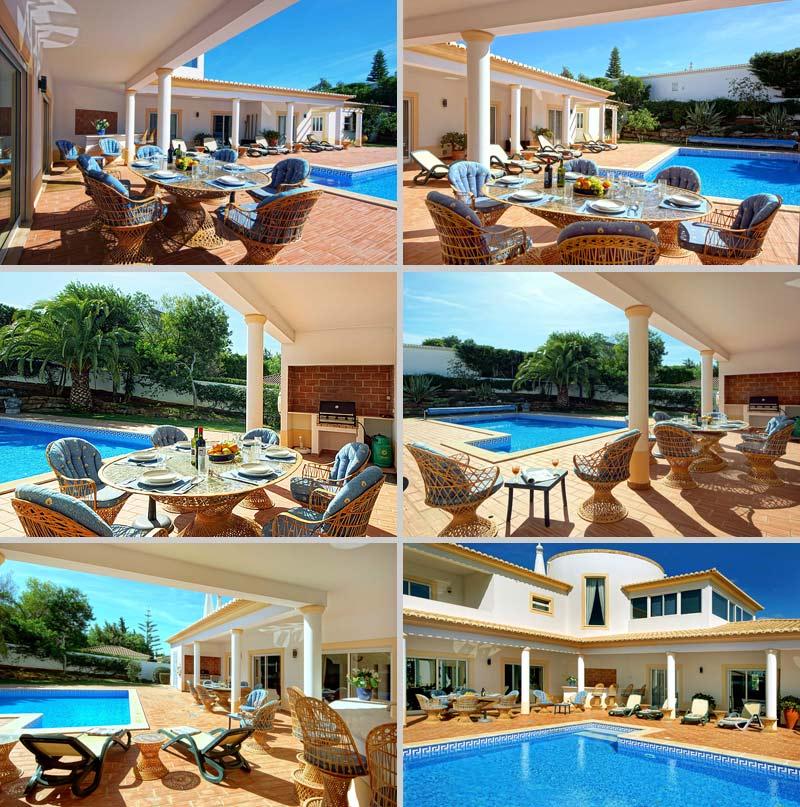 Villa CSB Buitenzijde met Zwembad, Lagos Algarve Portugal