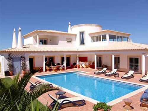 Villa CSB near Espiche in Algarve, Portugal, holiday home with pool for maximum of 8 people for rent