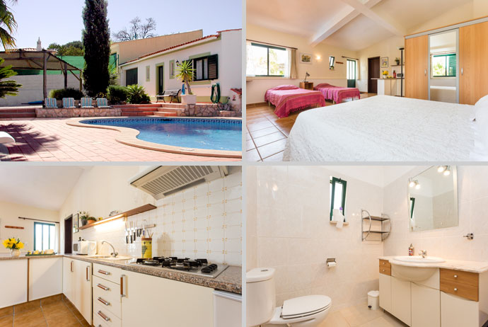 Holiday Home in Lagos, Algarve, Portugal - Composition around the pool
