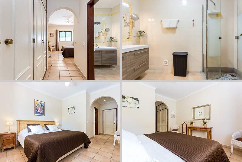 Villa PHL Compositie Hoofdslaapkamer met Badkamer en-suite in Lagos, Atalaia in de Algarve Portugal