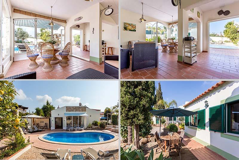 Villa PHL Compositie Serre en terras aan zijkant in Lagos, Atalaia in de Algarve, Portugal