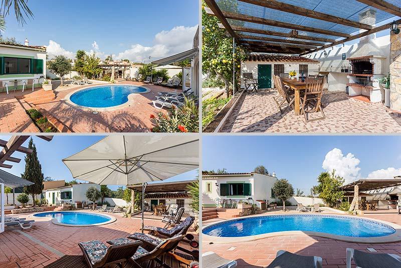 Villa PHL Compositie Terrassen en Zwembad in Lagos, Atalaia in de Algarve, Portugal