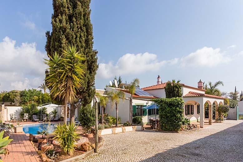 Villa PHL voorzijde Lagos, Atalaia, Algarve Portugal