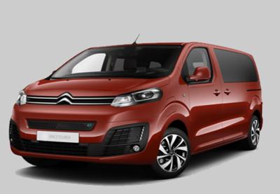 Auto verhuur/huur Groep G met airco maximaal 9 personen, Lissabon Portugal