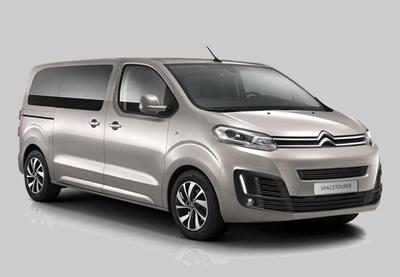 Auto verhuur/huur Groep G1 Autmaat met airco maximaal 9 personen, Lissabon Portugal