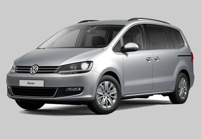 Auto verhuur/huur Groep L met airco maximaal 7 personen, Lissabon Portugal